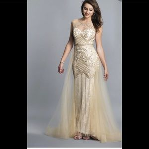 Formal Gown by Dave and Johnny